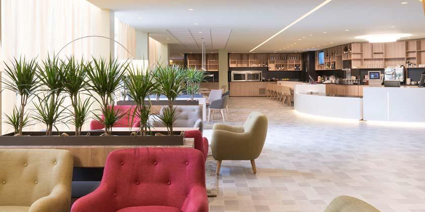Hôtel restaurant Novotel Aulnay sous Bois  réalisation